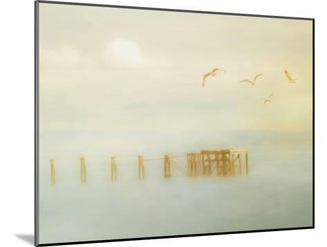 Down By The Jetty-Hal Halli-Mounted Art Print