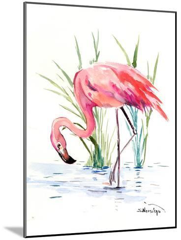 Flamingo 4-Suren Nersisyan-Mounted Art Print