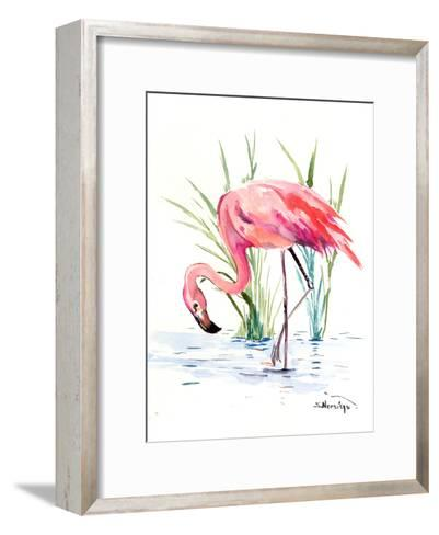 Flamingo 4-Suren Nersisyan-Framed Art Print