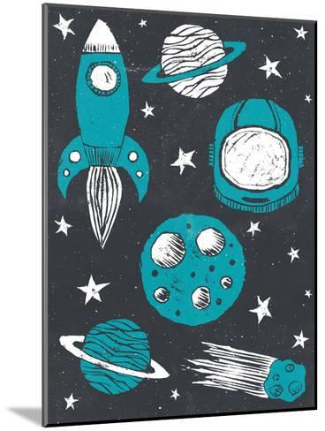 Space Age-Tracie Andrews-Mounted Art Print
