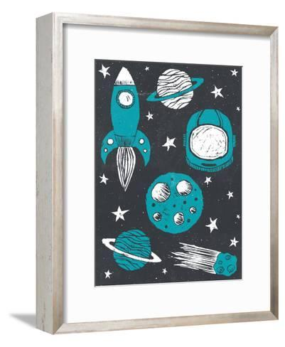 Space Age-Tracie Andrews-Framed Art Print