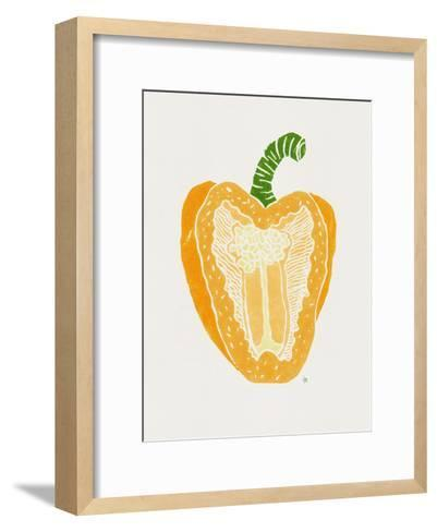 Yellow Pepper-Tracie Andrews-Framed Art Print