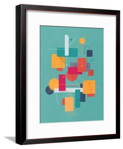 Thinking Of Summer-Tracie Andrews-Framed Art Print