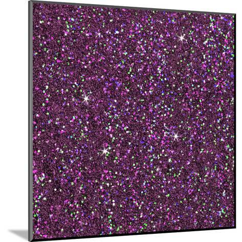 Purple Shiny-Wonderful Dream-Mounted Art Print