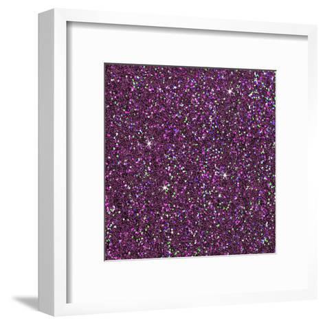 Purple Shiny-Wonderful Dream-Framed Art Print