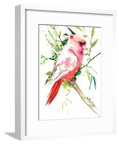 Cockatoo 1-Suren Nersisyan-Framed Art Print