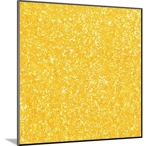 Yellow Shiny Diamond-Wonderful Dream-Mounted Art Print