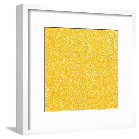 Yellow Shiny Diamond-Wonderful Dream-Framed Art Print