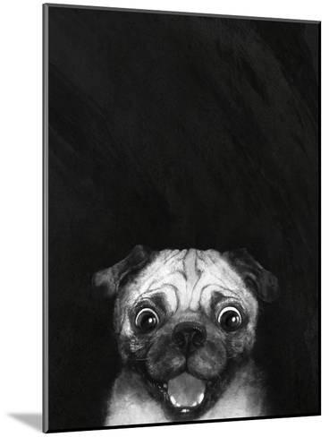 Snuggle Pug-Laura Graves-Mounted Art Print