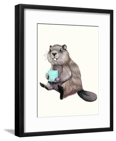 Damnfine Coffee-Laura Graves-Framed Art Print