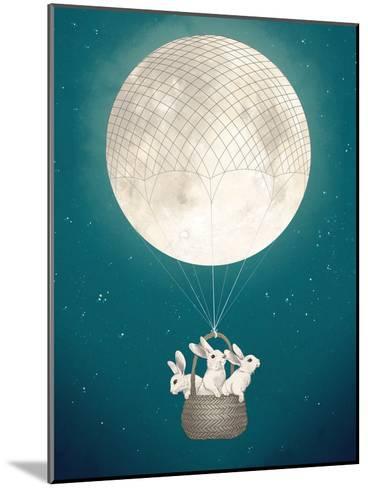 Moon Bunnies-Laura Graves-Mounted Art Print