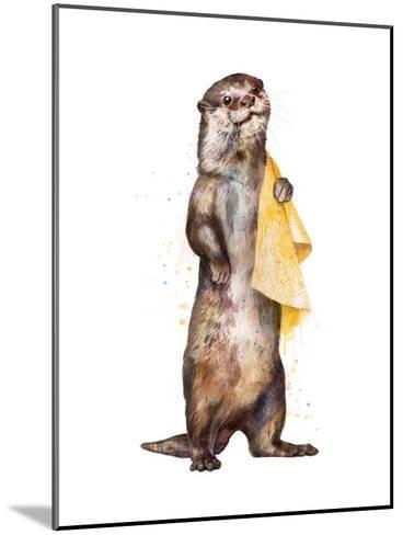 Otter-Laura Graves-Mounted Art Print