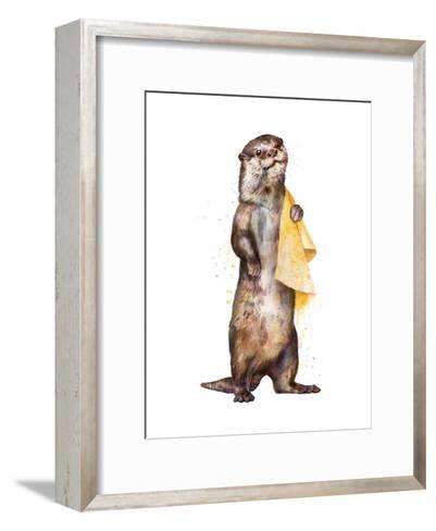 Otter-Laura Graves-Framed Art Print