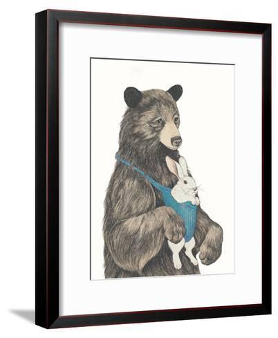 The Bear Aupair-Laura Graves-Framed Art Print