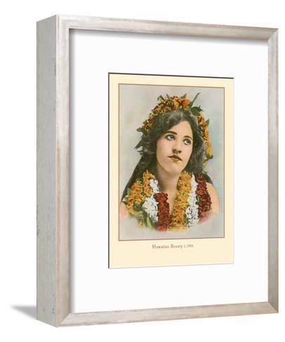 Hawaiian Beauty, Hawaii - Island Curio Co. of Honolulu-James Steiner-Framed Art Print