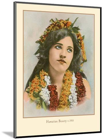 Hawaiian Beauty, Hawaii - Island Curio Co. of Honolulu-James Steiner-Mounted Art Print