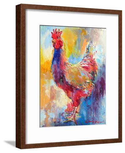 Rooster-Richard Wallich-Framed Art Print