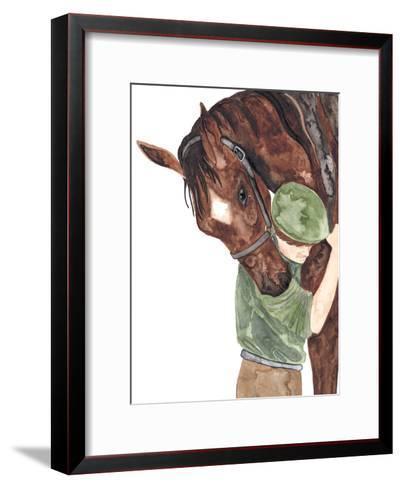 Mans Best Friend-Elena O'Neill-Framed Art Print