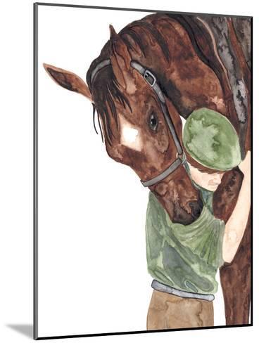 Mans Best Friend-Elena O'Neill-Mounted Art Print
