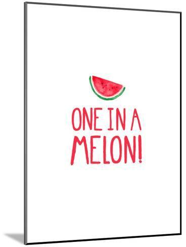 One In A Melon-Elena O'Neill-Mounted Art Print