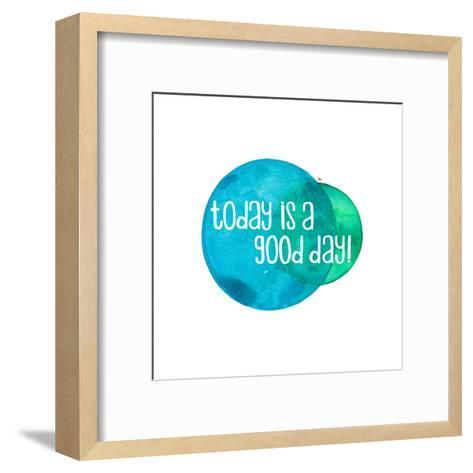 Today Is A Good Day-Elena O'Neill-Framed Art Print