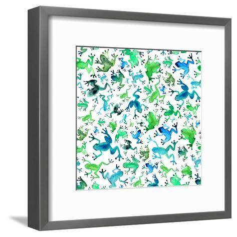 Tree Frogs-Elena O'Neill-Framed Art Print