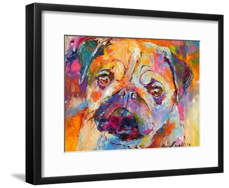 Pug-Richard Wallich-Framed Art Print