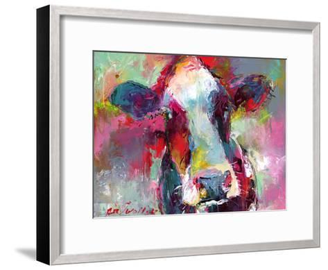 Cow3-Richard Wallich-Framed Art Print