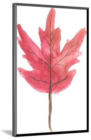 Watercolor Autumn Leaf-Jetty Printables-Mounted Art Print