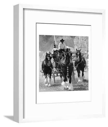 Shire Horses-Barry Hart-Framed Art Print