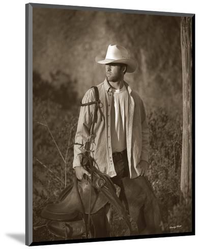 Urban Cowboy-Barry Hart-Mounted Art Print
