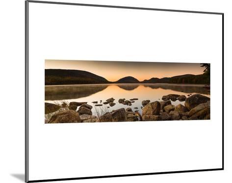 Eagle Lake Panorama-Michael Hudson-Mounted Art Print