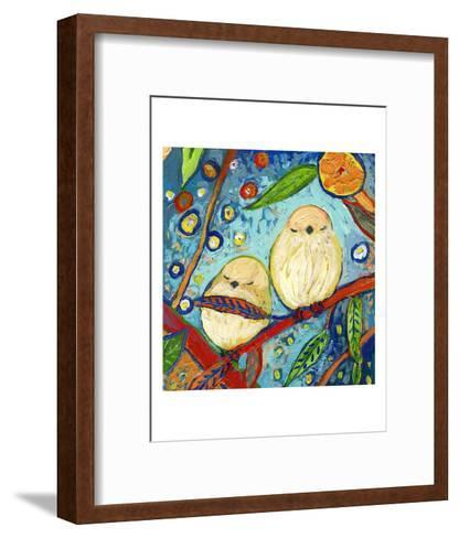 Modern Bird XII-Jennifer Lommers-Framed Art Print
