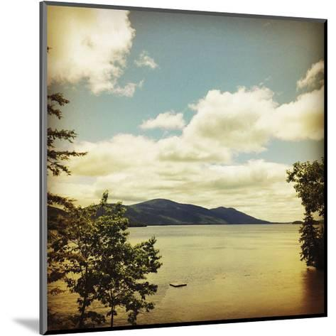 Lakescape Lake George-Gizara-Mounted Art Print