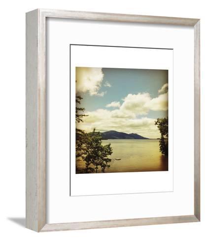 Lakescape Lake George-Gizara-Framed Art Print