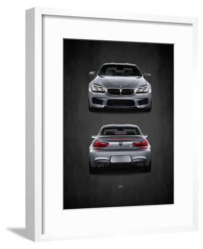 BMW M6-Mark Rogan-Framed Art Print