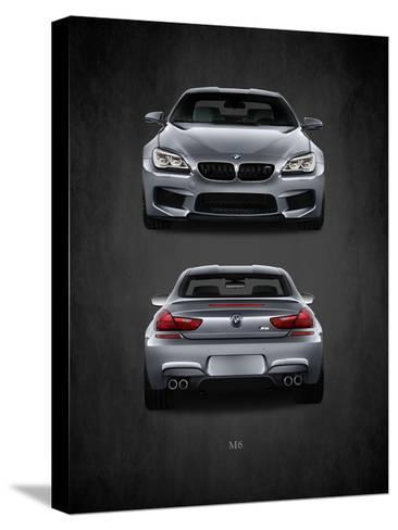 BMW M6-Mark Rogan-Stretched Canvas Print