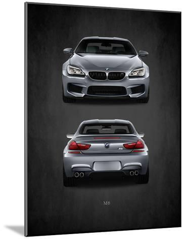 BMW M6-Mark Rogan-Mounted Giclee Print