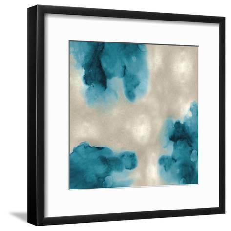 Entice in Aqua II-Lauren Mitchell-Framed Art Print