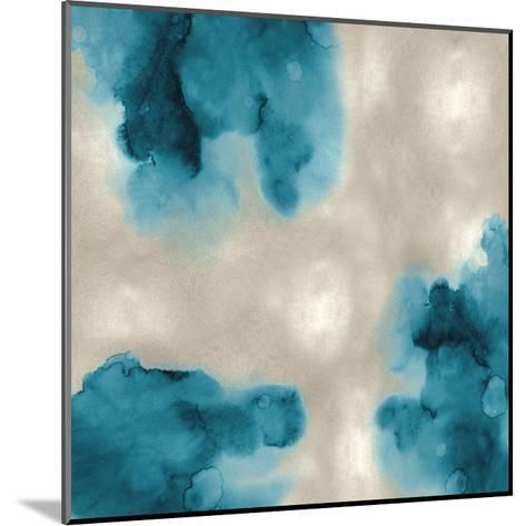 Entice in Aqua II-Lauren Mitchell-Mounted Giclee Print