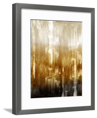 Amber Gradation-Justin Turner-Framed Art Print