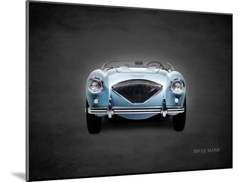 Austin-Healey 100 LeMans 1956-Mark Rogan-Mounted Giclee Print