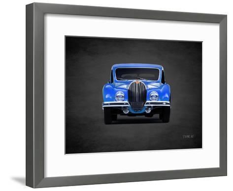 Bugatti Type-57 1936-Mark Rogan-Framed Art Print