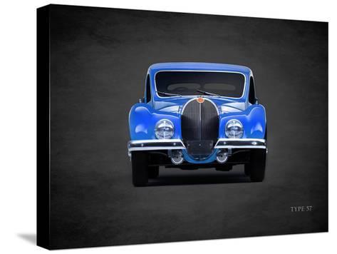 Bugatti Type-57 1936-Mark Rogan-Stretched Canvas Print