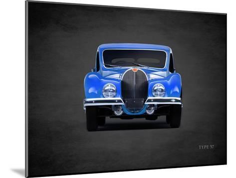 Bugatti Type-57 1936-Mark Rogan-Mounted Giclee Print