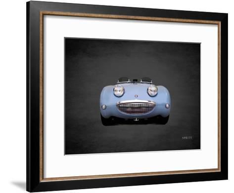 Austin-Healey Sprite Mk1-Mark Rogan-Framed Art Print
