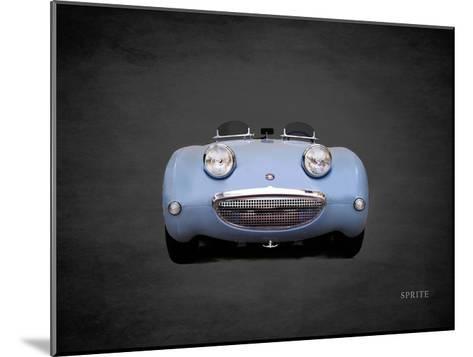 Austin-Healey Sprite Mk1-Mark Rogan-Mounted Giclee Print