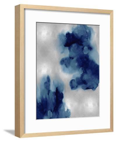 Entice in Indigo I-Lauren Mitchell-Framed Art Print