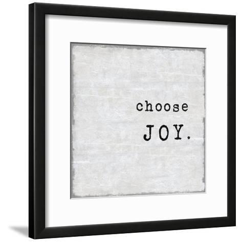 Choose Joy-Jamie MacDowell-Framed Art Print