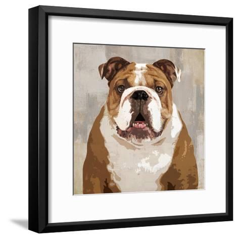 Bulldog-Keri Rodgers-Framed Art Print